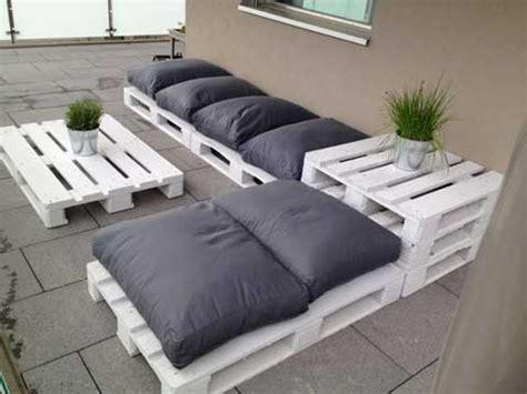 faire un salon de jardin en palette deco cool