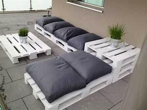 Salon De Jardin Palettes : faire un salon de jardin en palette deco cool ~ Farleysfitness.com Idées de Décoration
