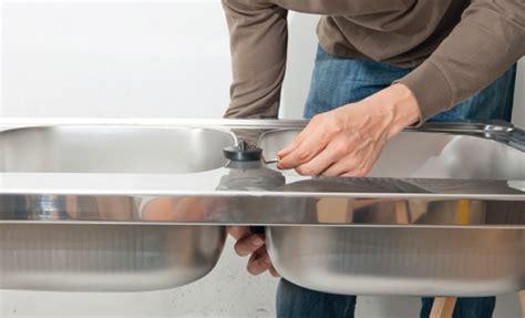 Evacuation D'eau  Raccordement D'un évier Doublebac De