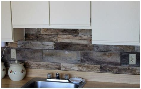 easy to install kitchen backsplash pin by bev stevens on cabin pinterest