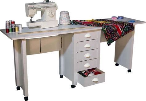 craft table on wheels details about double folding mobile desk wheels sewing
