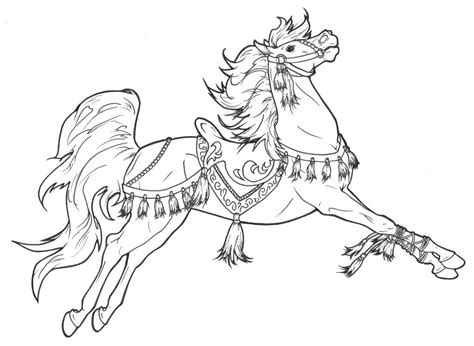 Coloring Horses Pages by Coloring Page Getcoloringpages