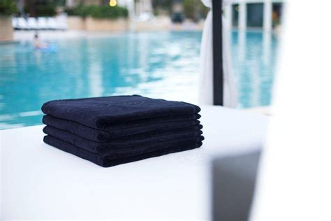 hotel luxury collection palazzo versace pool towels