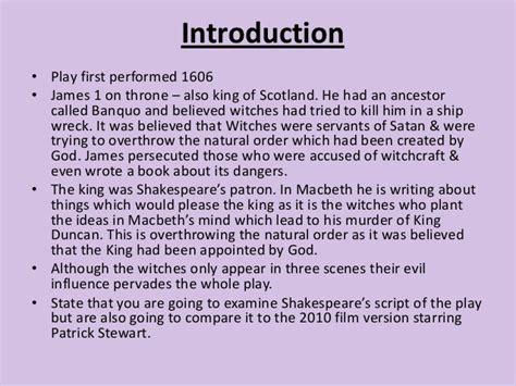 Macbeth Essay Assignments by Macbeth Essay Hooks