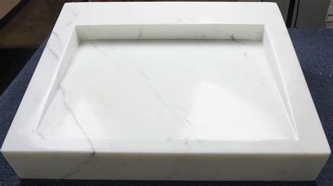 kitchen sink demo statuario sink demo display marble tile direct 2657