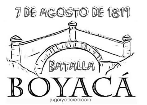 2019 Colorear dibujos Batalla de Boyacá Colombia Jugar