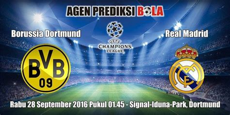 Prediksi Bola Borussia Dortmund vs Real Madrid 28 ...