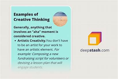 Thinking Creative Examples Critical Important Why Exercises