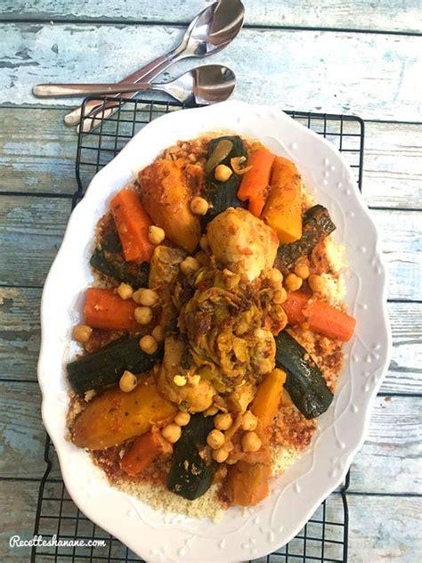 couscous express aux legumes  poulet recettes  hanane