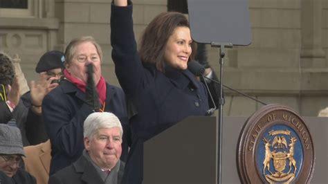 Gretchen Whitmer sworn in as Michigan's 49th Governor | WWMT