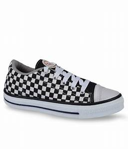 Unistar Black & White Checkered Sneakers Best Deals With