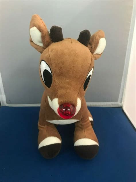 From a vcr recording circa 1989, complete broadcast of the 1964 rudolph with burl ives including commercials. Rudolph the Red Nosed Reindeer Musical/Light Up Nose ...