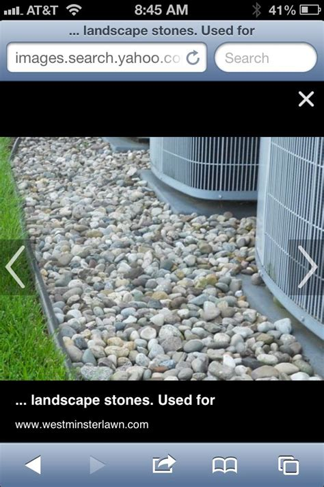 rocks  generator  air conditioner landscape design landscape stone house landscape