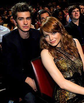 Emma Stone Dating Spider Man Costar Andrew Garfield