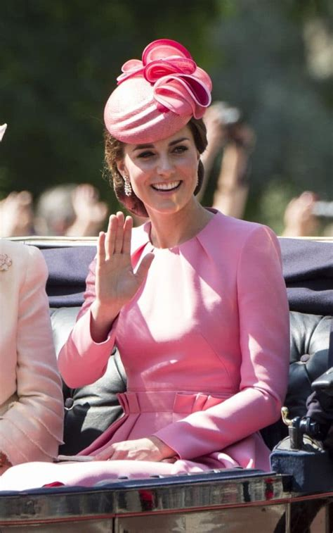 The Colour by Trooping The Colour The Duchess Of Cambridge Is Bright
