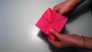 Faire Des Origami : faire une violette en origami fabriquer une fleur en papier youtube ~ Nature-et-papiers.com Idées de Décoration