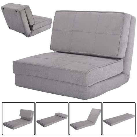 Convertible Lounger Folding Sofa Sleeper Bed Bed Couch