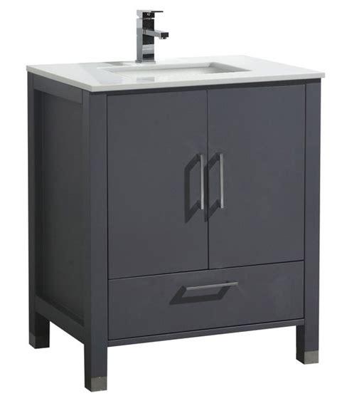 30 inch bathroom vanity with top 30 inch matt grey contemporary bathroom vanity with white