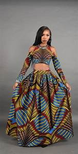 3D Bold African print Maxi skirt. by RAHYMA on Etsy ...
