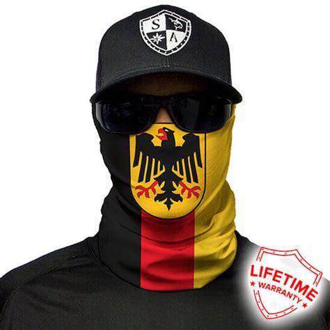 germany flag face shield lightweight bandana spf sun