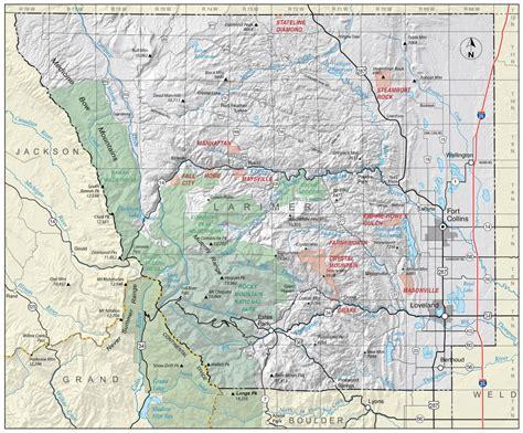 geological survey and mines bureau larimer county colorado geological survey