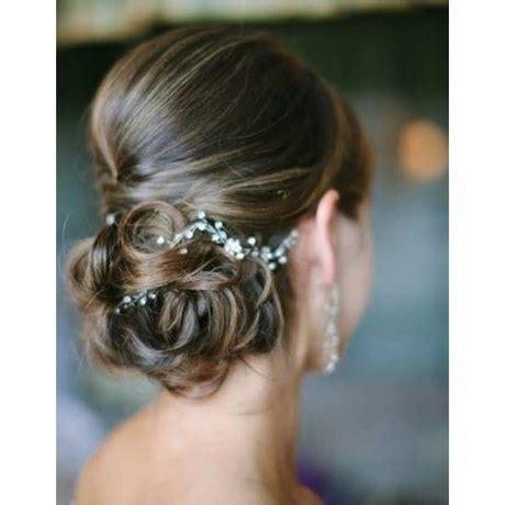 idee chignon mariage cheveux mi long