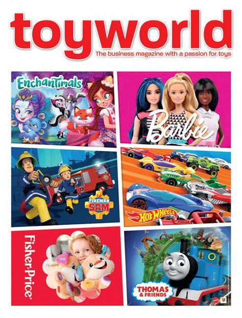 Toyworld Mattel supplement October 2017 by TOYWORLD