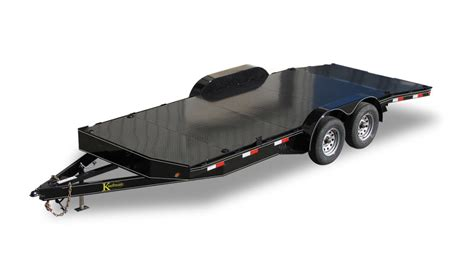 deluxe  gvwr car trailer  kaufman trailers