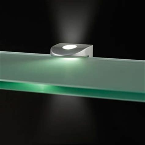 Glasregal Mit Led by Leyton Led Warm White Glass Shelf Support Light With