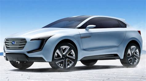subaru concept truck subaru viziv concept previews new suv design language