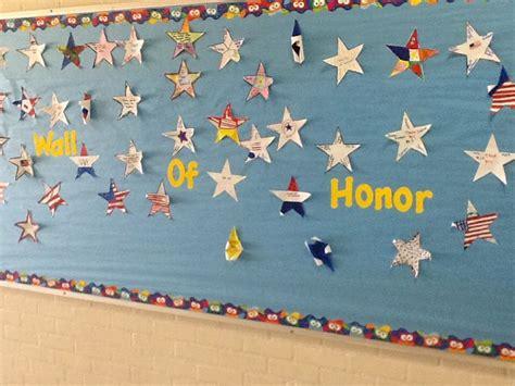 veterans day bulletin board wall  honor veterans
