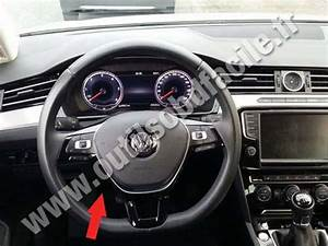 Obd2 Connector Location In Volkswagen Passat B8  2015
