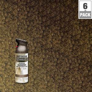 Rust oleum universal 12 oz all surface forged hammered for Spray paint for furniture home depot