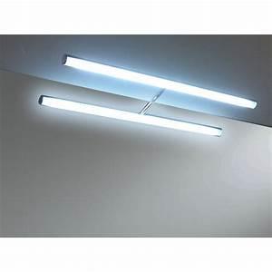 spot pour miroir l286 x h29 cm torino 286 leroy merlin With carrelage adhesif salle de bain avec tube led neon