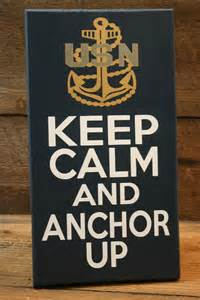 Keep Calm and Anchor Up