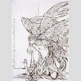 Fallen Angel Drawings | 600 x 853 jpeg 525kB