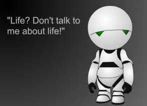 marvin the paranoid android quotes post your favorite hitchhiker s guide to the galaxy quotes