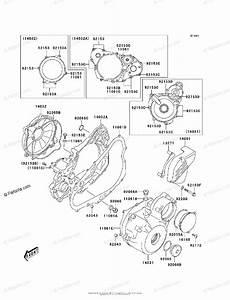 Kawasaki Motorcycle 2003 Oem Parts Diagram For Engine