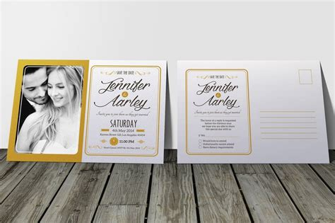 15+ Gorgeous Save the Date Wedding Templates Design Shack