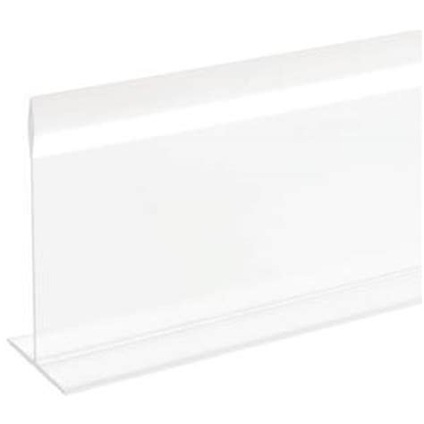clear shelf dividers these clear shelf dividers can define your display