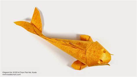 Kade Chan Origami Blog Koi Fish