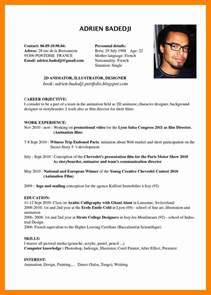 Curriculum Vitae Translation by 12 Exle Cv In Resumed