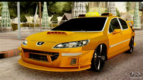 Peugeot Sa by Peugeot 407 Sport Taxi For Gta San Andreas