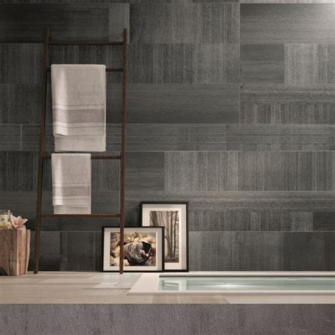 unique rug look tile modern bathroom brisbane by