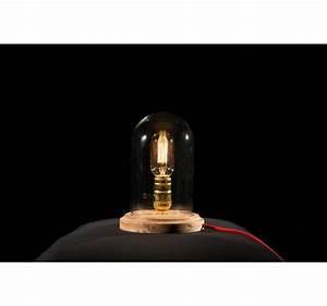Lampe Globe Verre : lampe poser globe verre pour ampoule a filament edison ~ Teatrodelosmanantiales.com Idées de Décoration