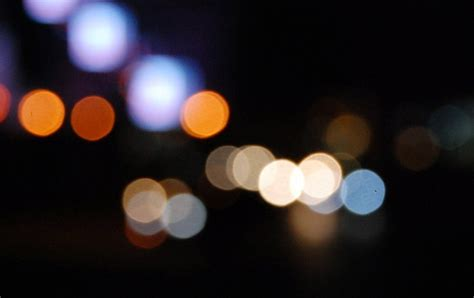 Blurry City Lights  4 Free Photos