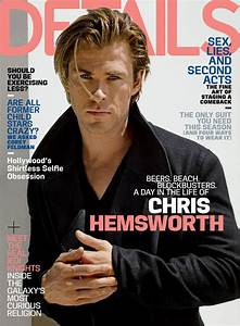 Chris Hemsworth For Details Magazine