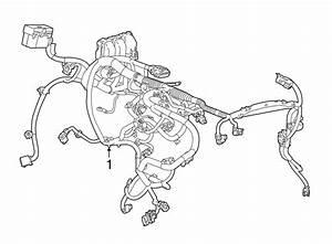 Chevrolet Trax Engine Wiring Harness  W  Awd