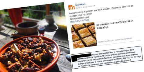 cuisine pour le ramadan recettes du ramadan marmiton fait à un torrent d