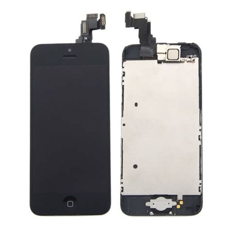 iphone home button on screen black iphone 5c lcd display touch screen digitizer 17655
